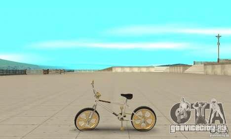 Spin Wheel BMX v2 для GTA San Andreas вид слева