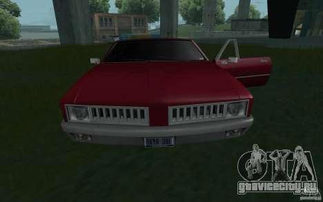 HD Stallion из GTA3 для GTA San Andreas вид справа