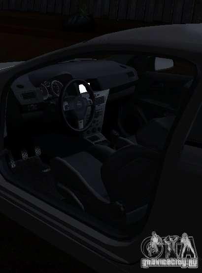 Opel Astra GSI для GTA San Andreas вид сзади слева