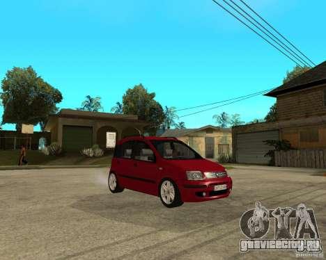 2004 Fiat Panda v.2 для GTA San Andreas вид справа