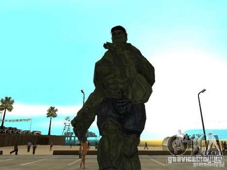 Hulk Skin для GTA San Andreas второй скриншот