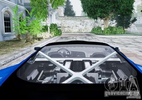 Jaguar XJ 220 для GTA 4 вид сзади