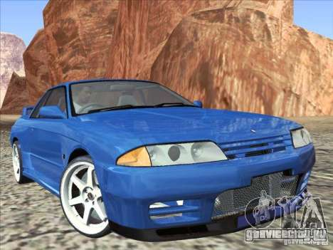 Nissan Skyline GT-R 32 1993 для GTA San Andreas вид справа