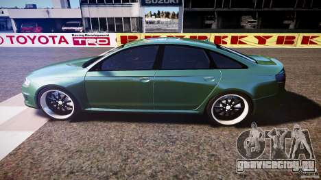 Audi RS6 2009 для GTA 4 вид слева