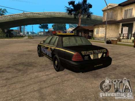 Ford Crown Victoria 2003 Police для GTA San Andreas вид слева