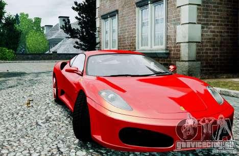 Ferrari F430 для GTA 4 вид справа
