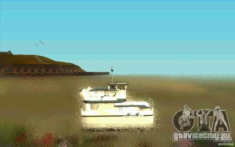 Ferry для GTA San Andreas вид слева
