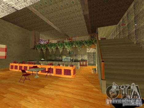 Новый интерьер Marco Bistro для GTA San Andreas пятый скриншот