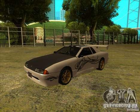 Пак винилов для стандартной Elegy для GTA San Andreas вид справа