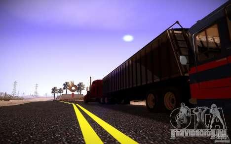 Dumper Trailer для GTA San Andreas вид справа