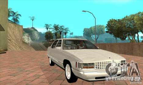 Cadillac Deville v2.0 1994 для GTA San Andreas вид сзади
