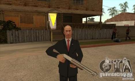 Владимир Владимирович Путин для GTA San Andreas пятый скриншот
