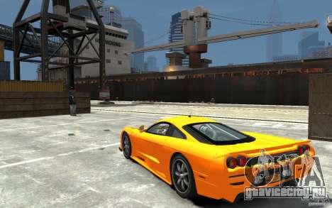 Saleen S7 для GTA 4 вид сзади слева