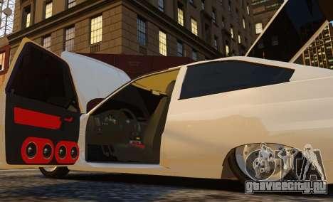 ВАЗ 2112 Купе для GTA 4 вид сзади