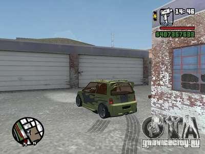 ОКА 1111 (Тюнинг) для GTA San Andreas вид сбоку