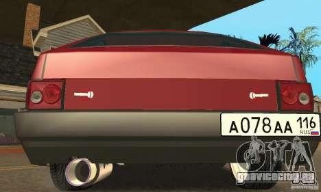ВАЗ 2108 Maxi для GTA San Andreas вид сзади слева