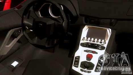 Lamborghini Aventador LP-700 J для GTA San Andreas вид сбоку