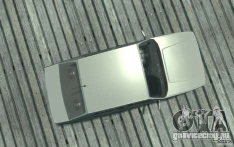 Alfa Romeo 75 для GTA 4 вид справа