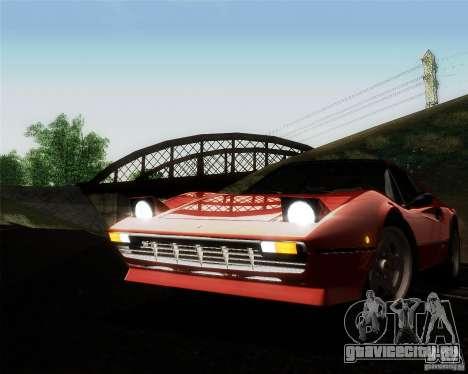 Ferrari 308 GTS Quattrovalvole для GTA San Andreas вид сверху
