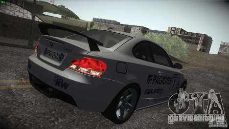 BMW 135i Coupe Road Edition для GTA San Andreas колёса