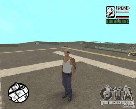 Cj Гопник для GTA San Andreas пятый скриншот