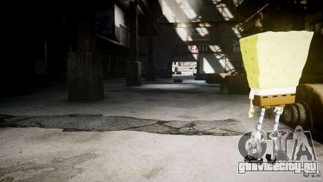Спанч Боб для GTA 4 восьмой скриншот