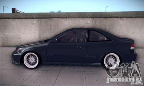 Honda Civic 6Gen для GTA San Andreas вид слева