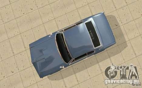 Stallion из GTA 4 для GTA San Andreas вид справа