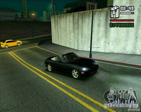 Mazda Miata Tunable для GTA San Andreas вид слева