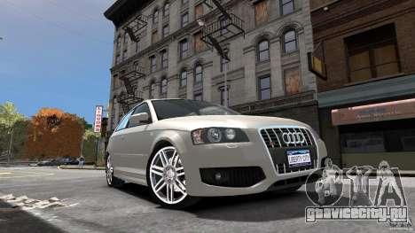 Audi S3 2006 v1.1 не тонированая для GTA 4