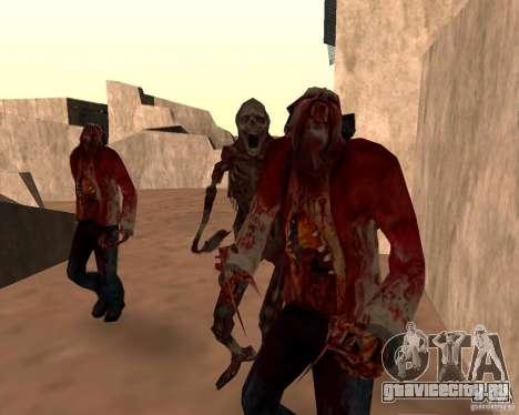 Zombie Half life 2 для GTA San Andreas седьмой скриншот