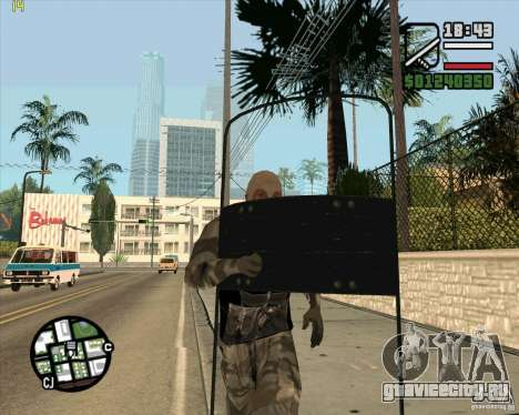 Броне щит из Call of Duty Modern Warfare 2 для GTA San Andreas