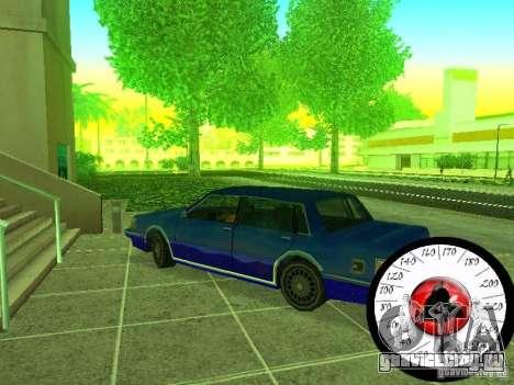 Новый Cпидометр для GTA San Andreas четвёртый скриншот
