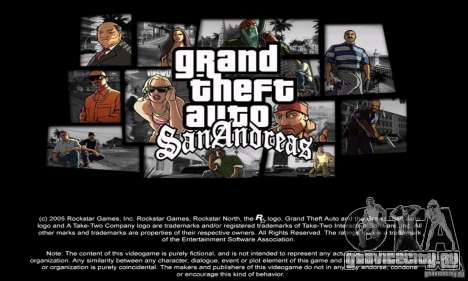 Loadscreens in GTA-IV Style для GTA San Andreas четвёртый скриншот
