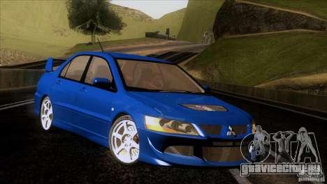 Mitsubishi Lancer Evolution IIIV для GTA San Andreas