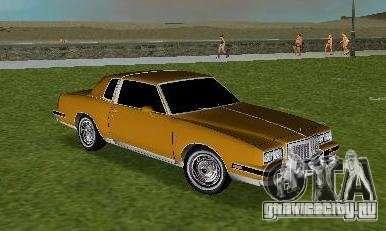 Pontiac Grand Prix для GTA Vice City вид сзади слева