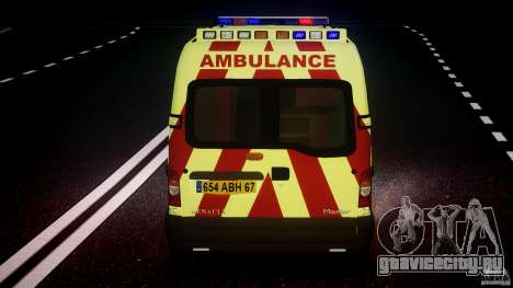 Renault Master 2007 Ambulance Scottish [ELS] для GTA 4 колёса