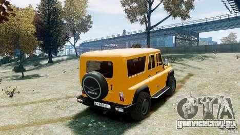УАЗ-3159 (Барс) для GTA 4 вид слева