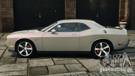 Dodge Challenger SRT8 392 2012 для GTA 4 вид слева