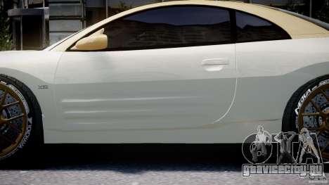 Mitsubishi Eclipse GTS Coupe для GTA 4 вид снизу