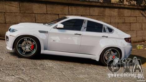 BMW X6 Hamann Evo22 no Carbon для GTA 4 вид слева