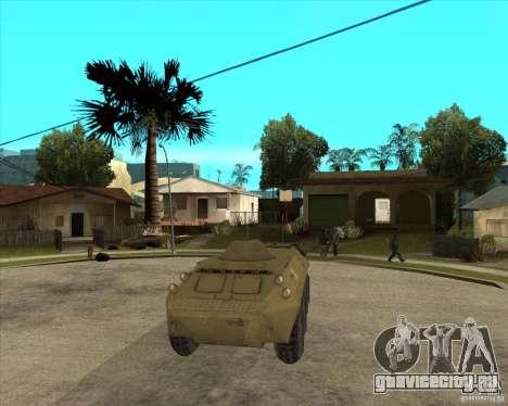 БТР из S.T.A.L.K.E.R для GTA San Andreas вид сзади