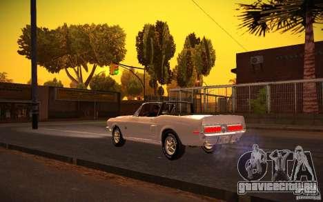 ENBSeries v1.0 By ГАЗелист для GTA San Andreas пятый скриншот