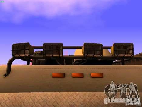 Monster Van для GTA San Andreas вид сверху