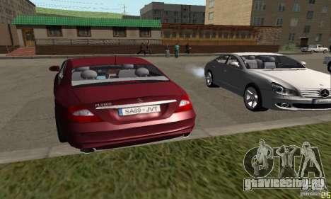 Mercedes-Benz CLS500 v2 для GTA San Andreas вид слева
