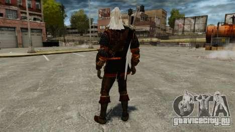 Геральт из Ривии v4 для GTA 4 третий скриншот