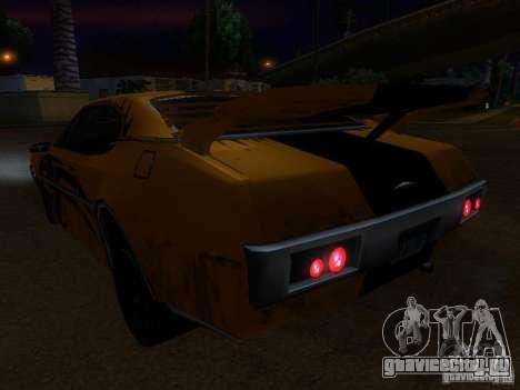 Clover Tuning для GTA San Andreas вид сзади
