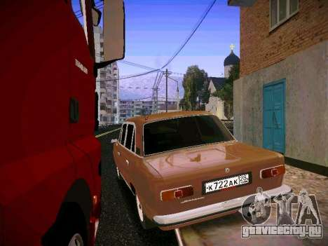 ВАЗ 21011 для GTA San Andreas вид сзади слева
