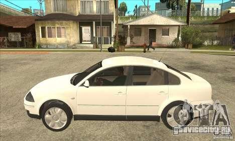 Volkswagen Passat B5 для GTA San Andreas вид слева