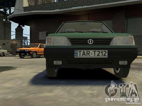 FSO Polonez для GTA 4 вид сверху